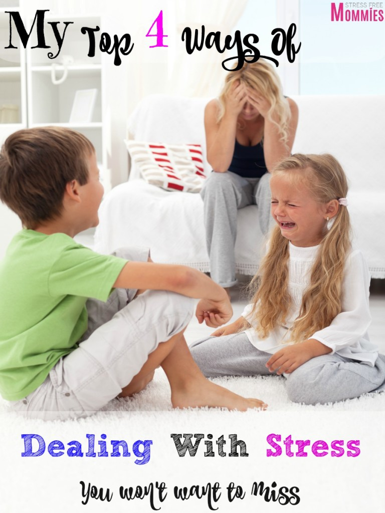 4 effective ways for dealing with stress
