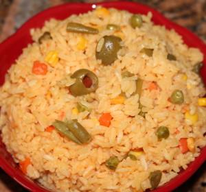 Quick-easy-delicious vegetable rice/rapido-facil-delicioso arroz de vegetal