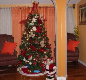 Christmas decorations/Decorando para las navidades