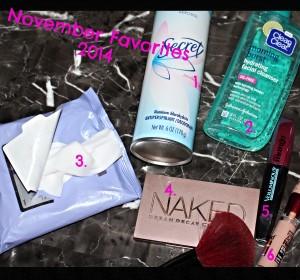 November favorites(beauty products)+Video/Favoritos de Noviembre(productos de belleza)+video