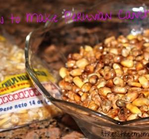 How to make Peruvian toasted Corn Cancha/Como Hacer Cancha Peruana
