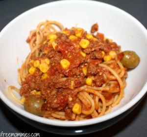Spaghetti Bolognese/ Spaghetti Boloñesa