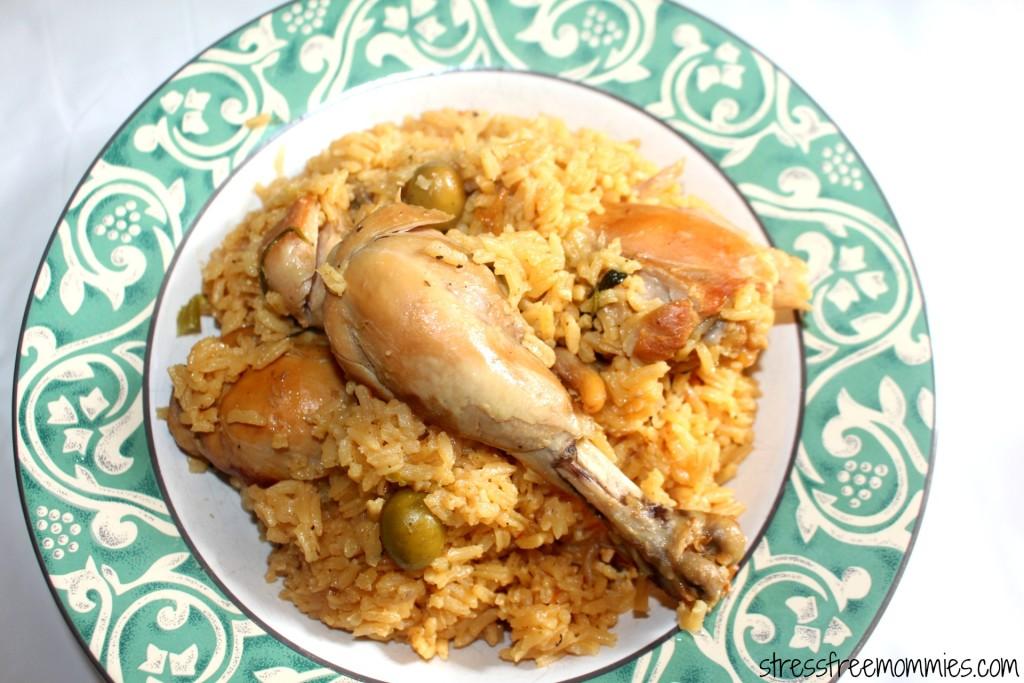 Arroz Con Pollo Dominicano