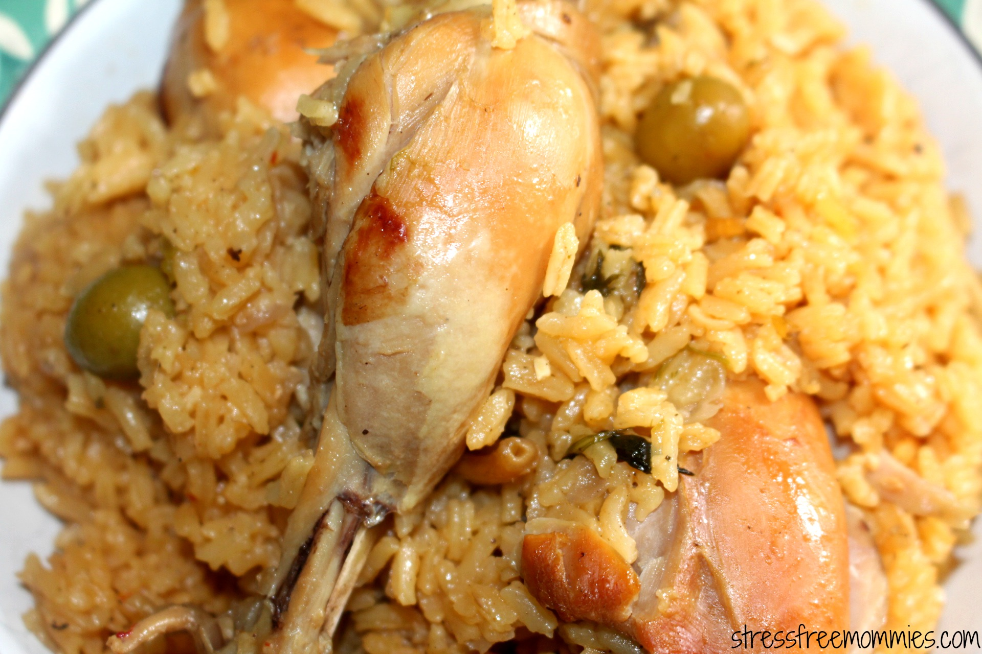Dominican Rice And Chicken