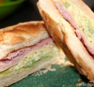 Special Ham and Cheese Sandwich / Sandwich Especial de Jamon y Queso