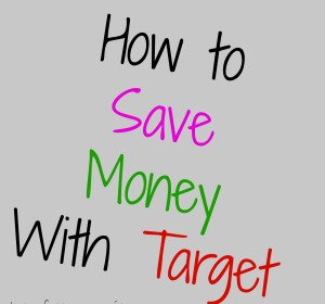Who wants to save money with Target?/ Quien quiere ahorrar dinero con Target