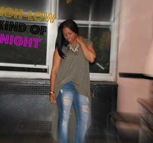 High and Low kind of Night (OOTD) / Una Noche Alta y Baja (OOTD)