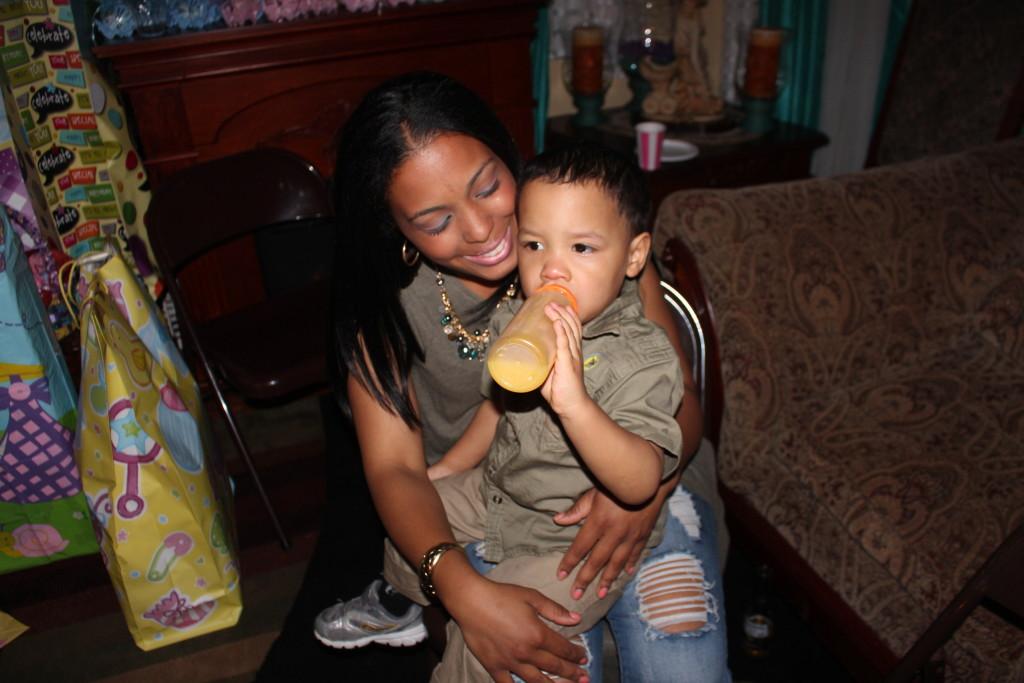 me and my baby boy / yo y mi hijo