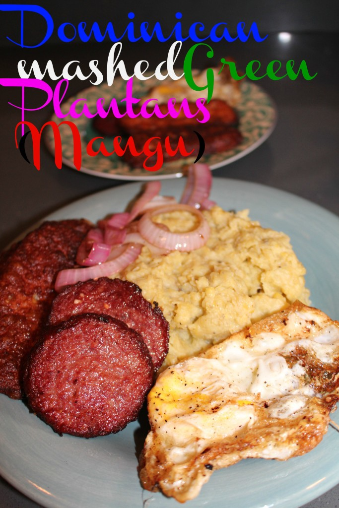 Dominican Mangú Mashed Green Plantains