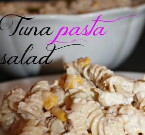 Tuna Pasta Salad/Ensalada de pasta con Tuna