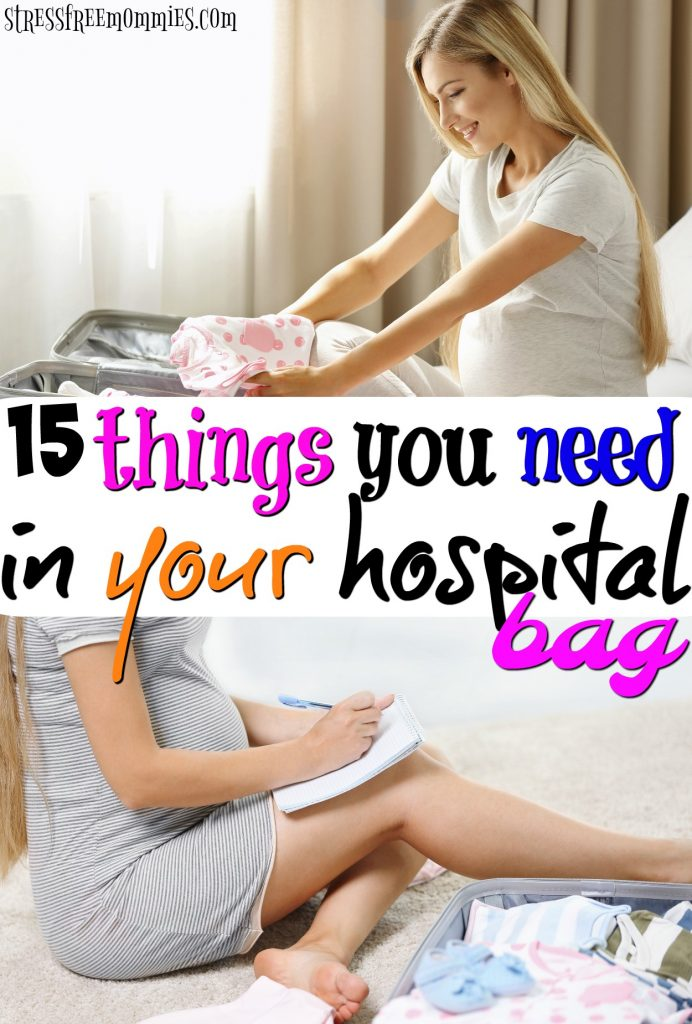 15 things you need to pack in your hospital bag.Narrow down the important items you need in your hospital bag, no overpacking, no fuss, just essentials.
