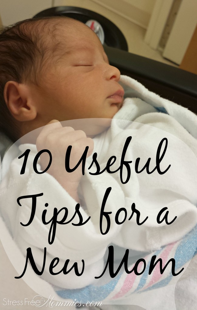 top tips for a new mother