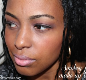 Day and Evening Smokey purple eyes tutorial