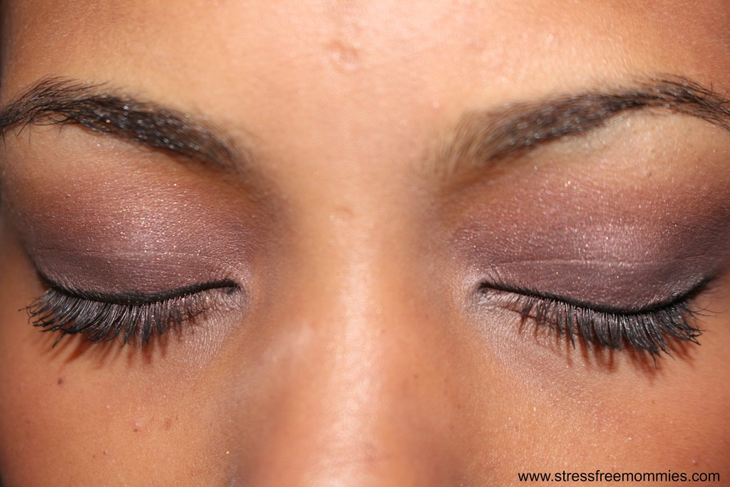smokey purple eye tutorial ( easy steps)