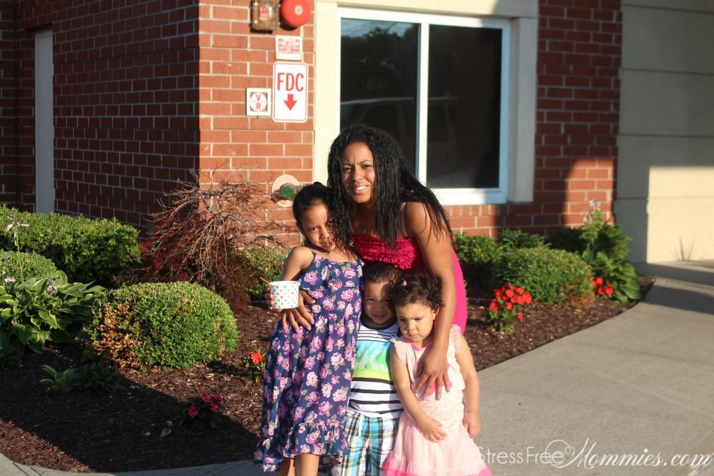 maxi dress for moms