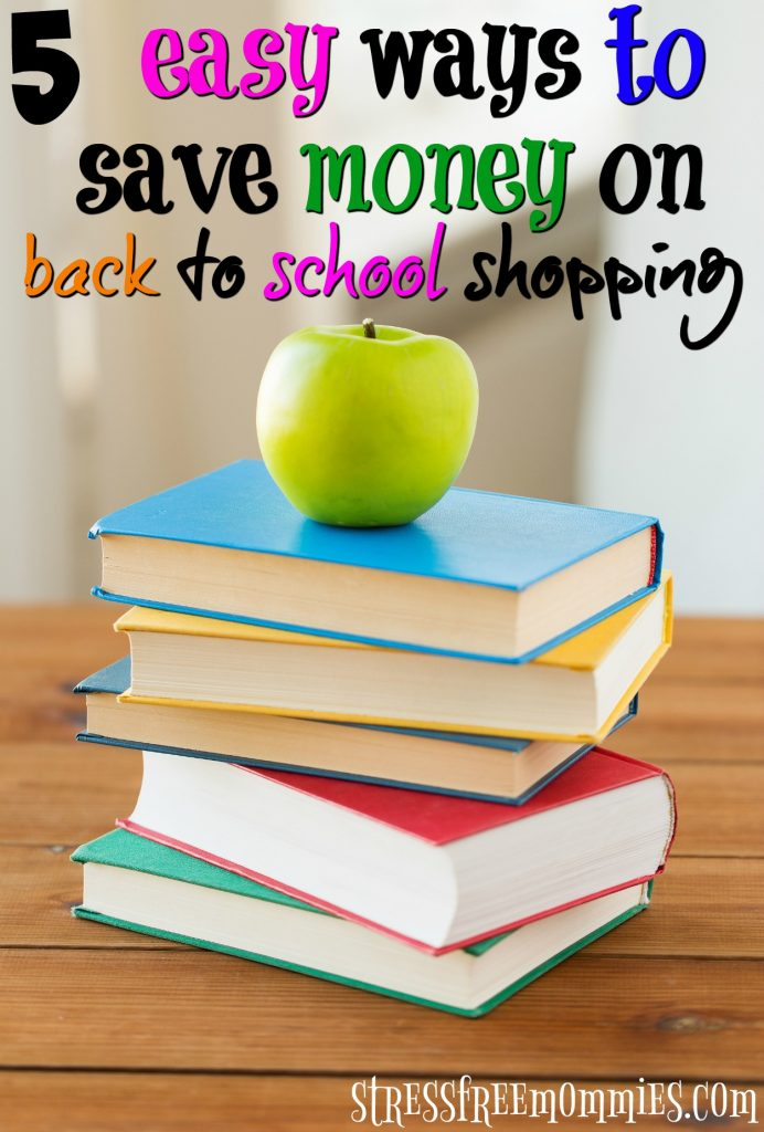 save money on back to school shopping