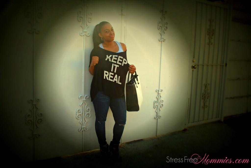 keep it real shirt