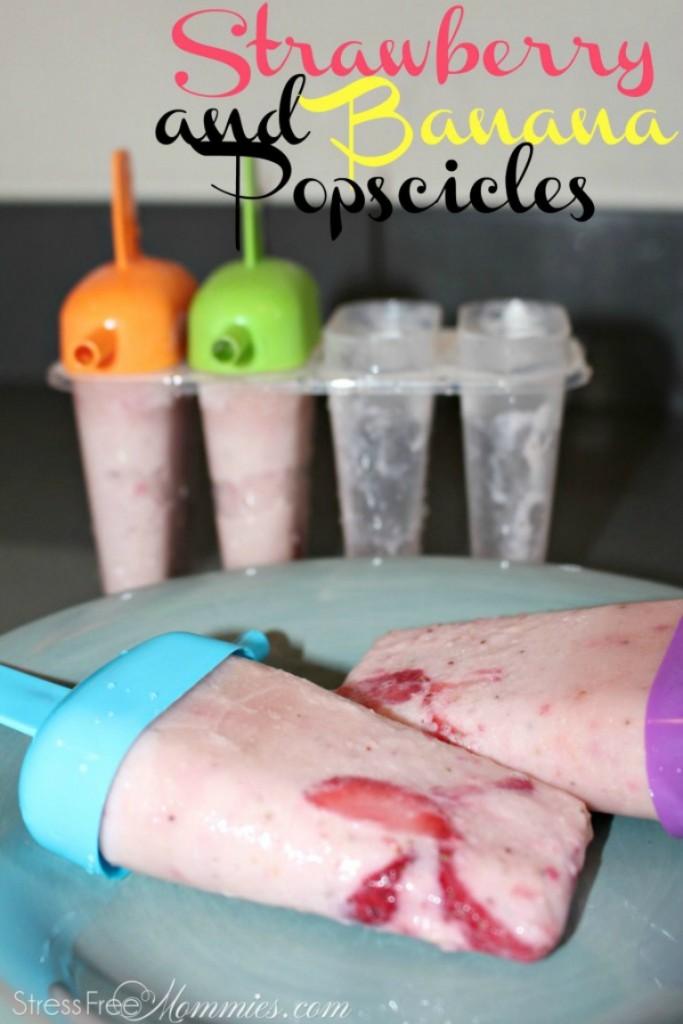 easy icecream popscicles