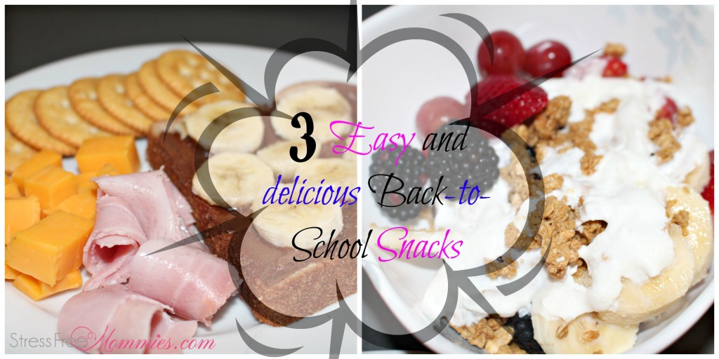 back to school snacks for your kids
