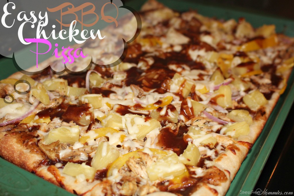 Chicken patacones stress free mommies easy bbq chicken recipe forumfinder Image collections