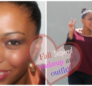 Fall Inspired Makeup and Outfit 2015