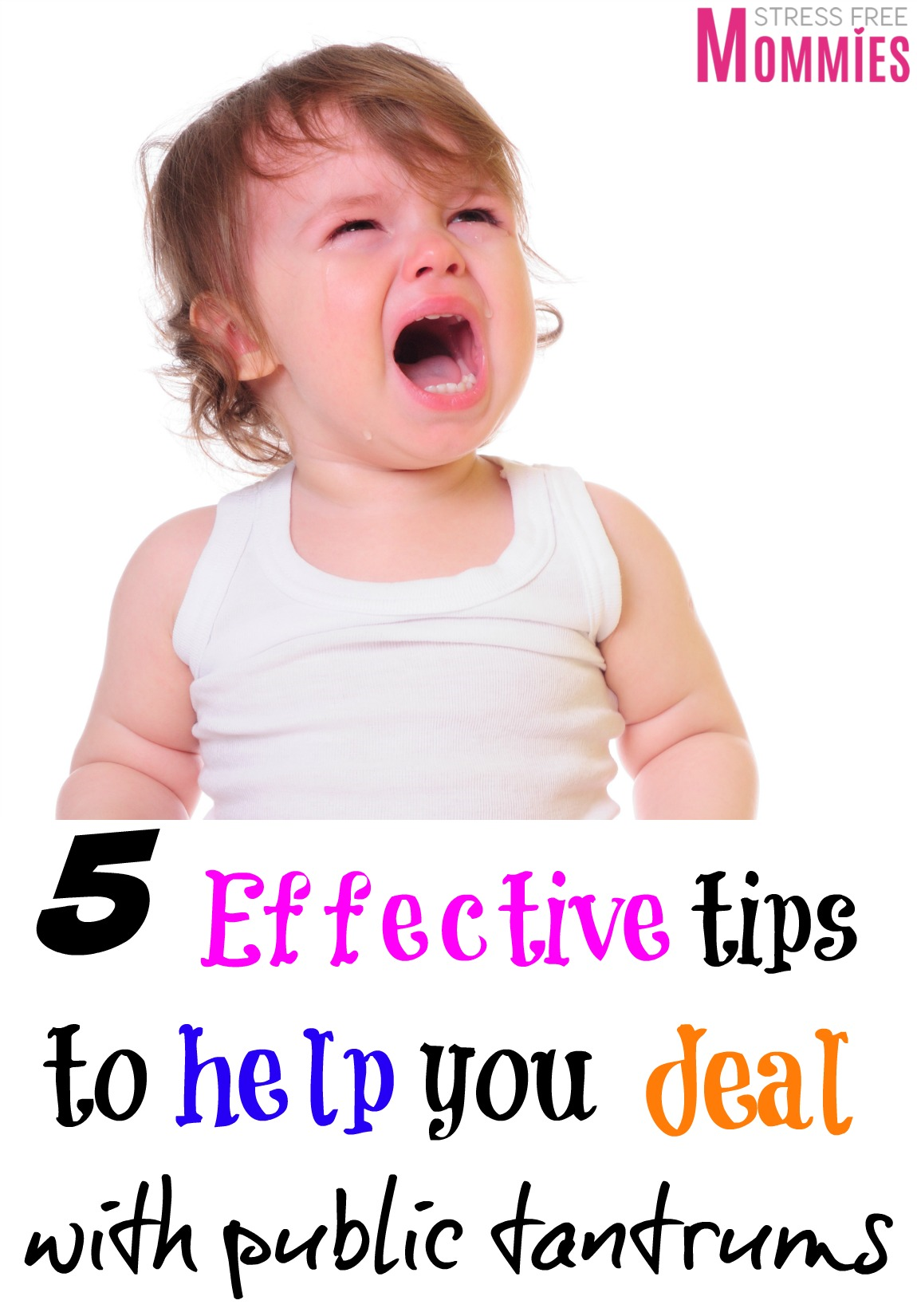 5 effective tips to help you deal with public tantrums- Simple tips to implement when your kids are not listening to you and are throwing a public tantrum.  #toddler #parentingtips #tantrums