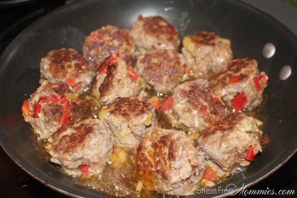 meatballs in teriyaki sauce