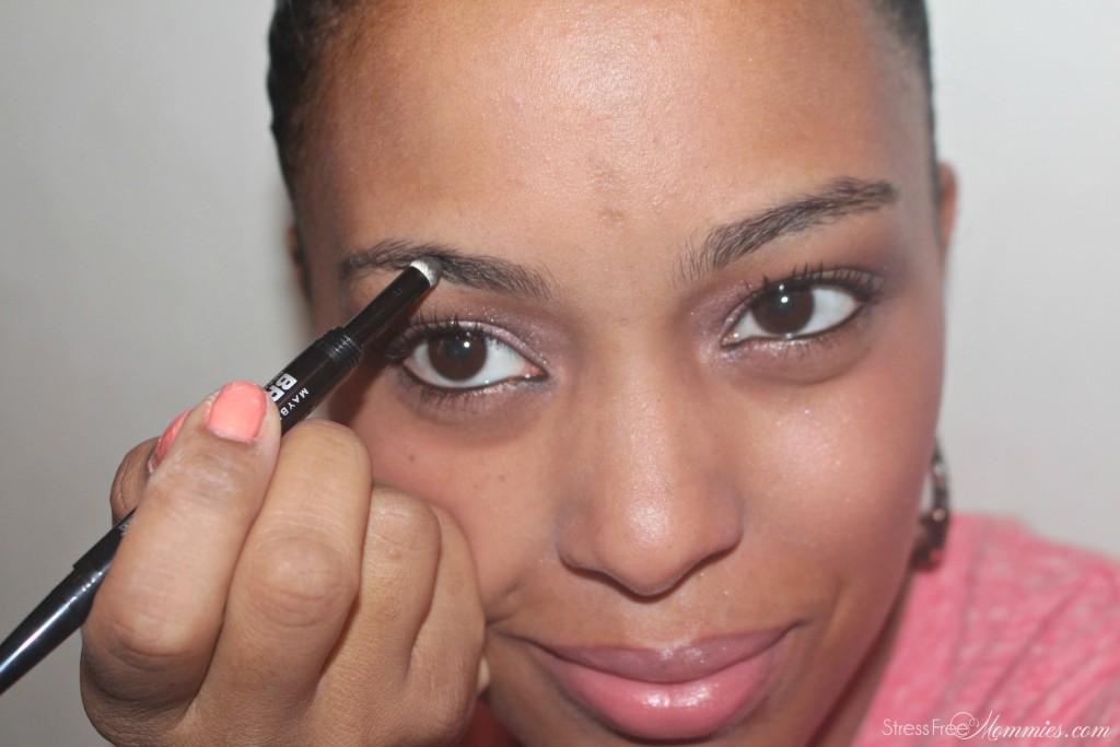 Maybelline eyebrow pencil with sponge
