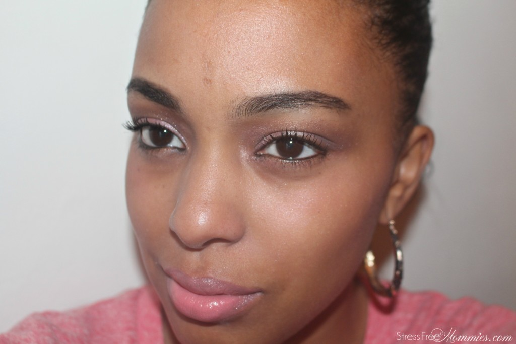 datenight pink makeup look