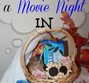 Essentials For A Movie Night In + Giveaway