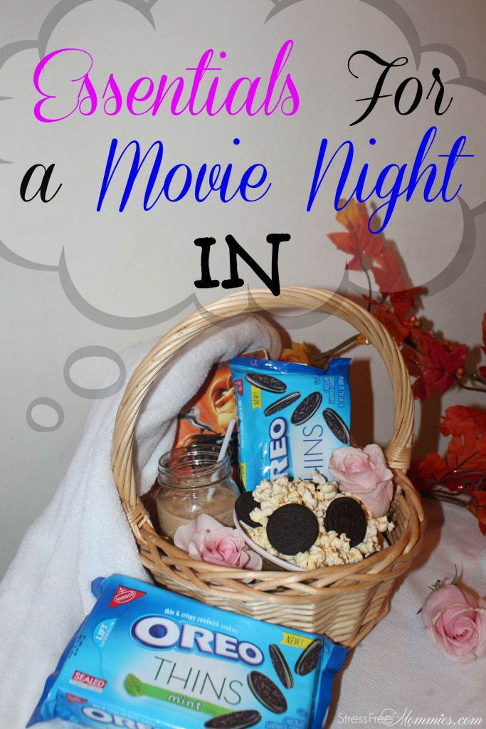 essentials for a movie night in