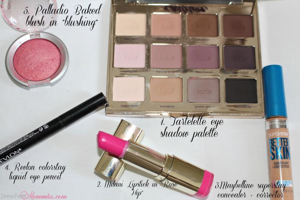 beauty products,milani,tartellete