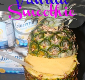 diabetes friendly tropical vanilla smoothie