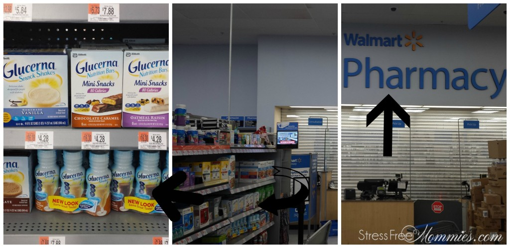 walmart pharmacy section