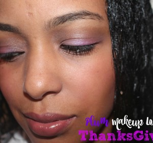 Plum Makeup look for Thanksgiving