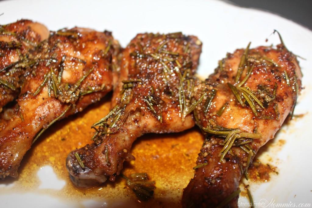 easy baked rosemary chicken