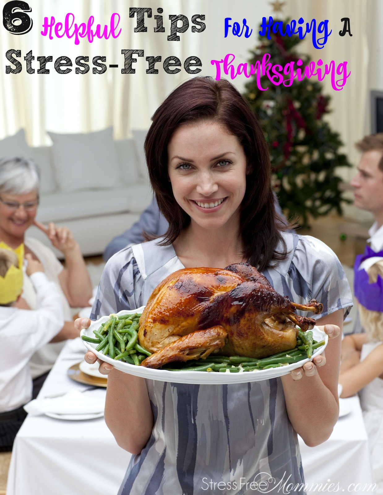 Here are quick and effective tips for having a stress free Thanksgiving! Keep this checklist on hand and remember the holidays season doesn\'t have to be stressful