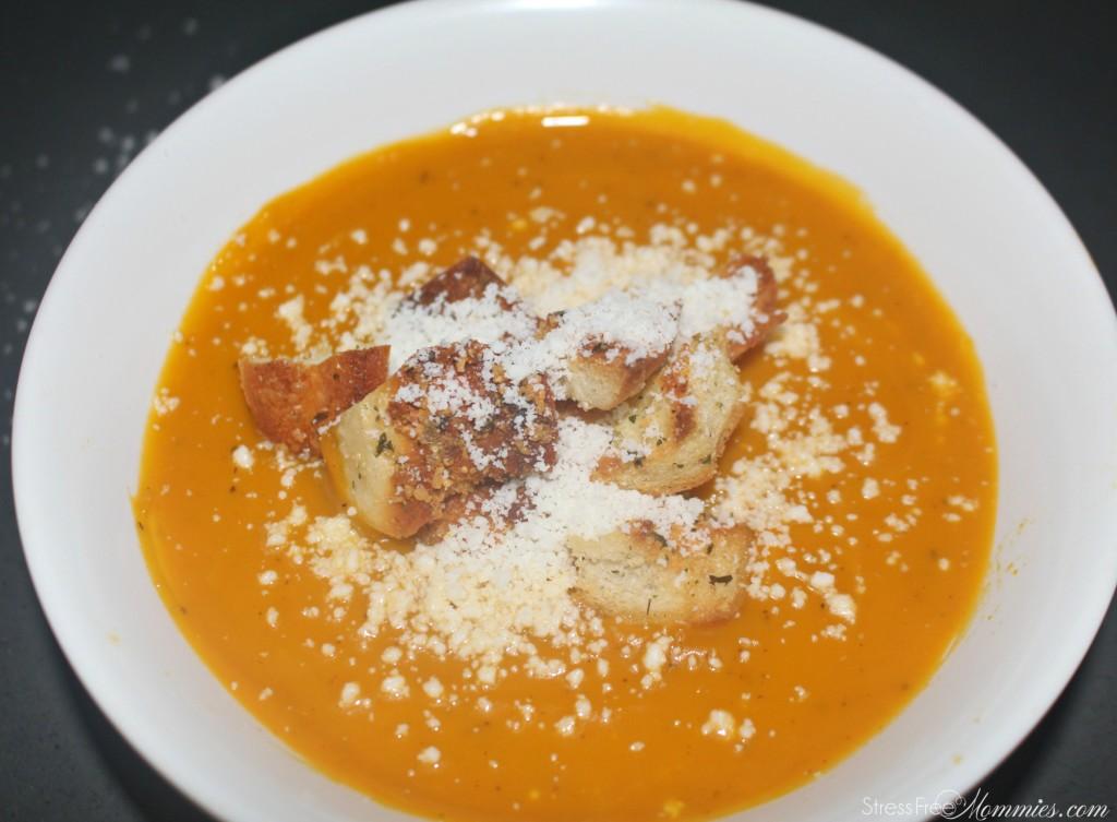 how to make pumpkin soup