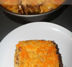 Pastelon De Platano Maduro (Dominican recipe)