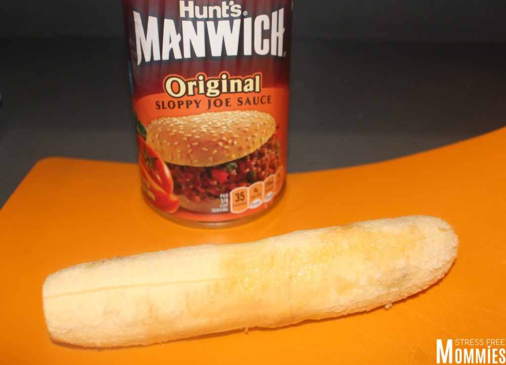 canoas de platano maduro using MANWICH