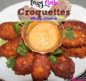 Easy Crab Croquettes