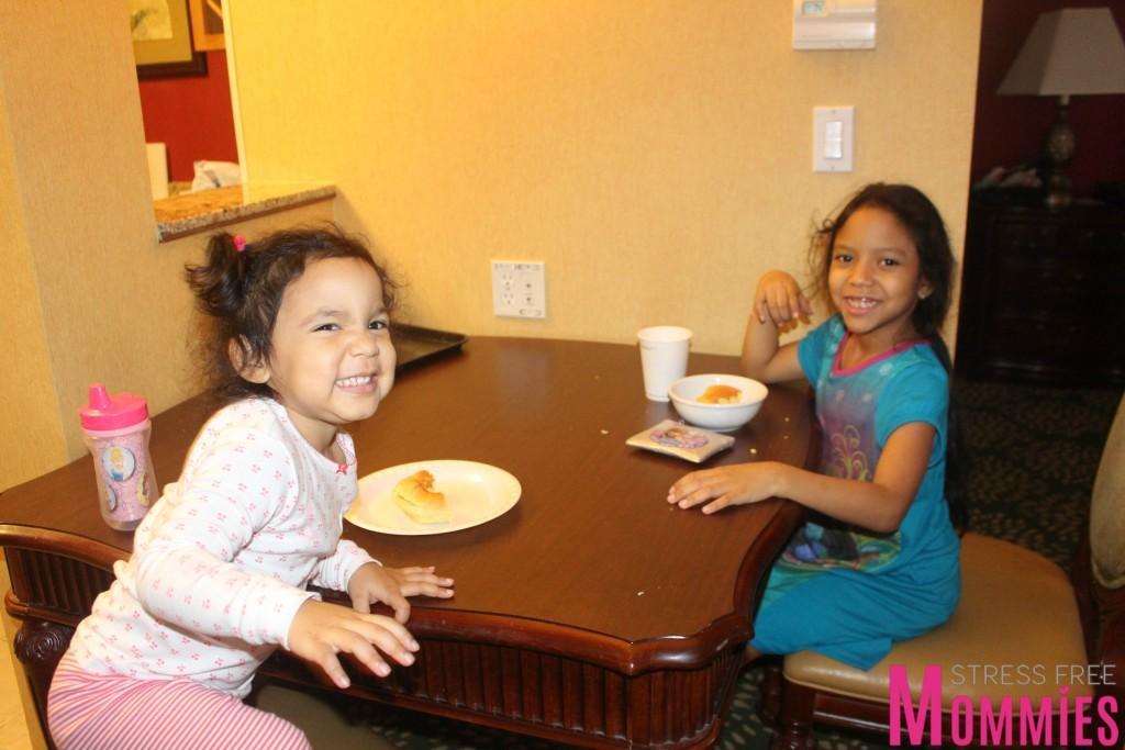 breakfast time in marriott hotel
