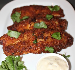 Easy breaded tilapia fillets