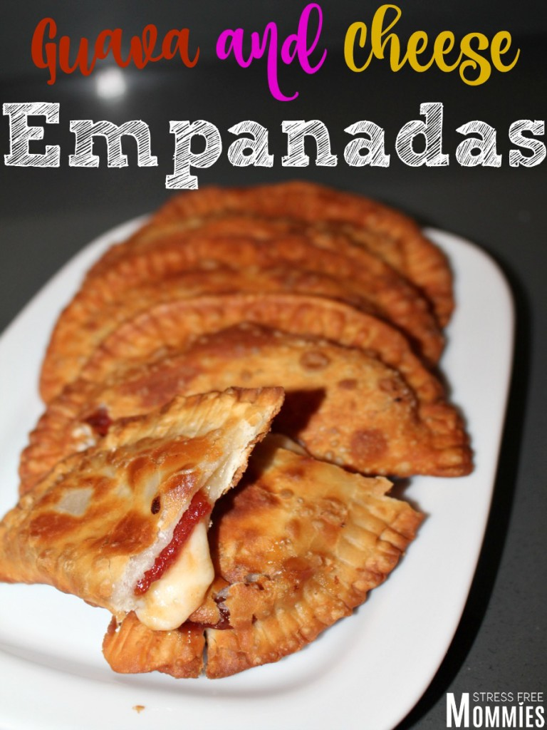 easy guava and cheese empanadas