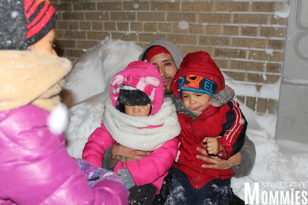 snow day with kids