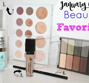 January Beauty Favorites 2016