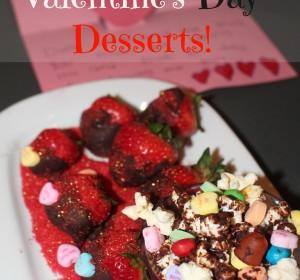 Valentine's day dessert done in minutes!