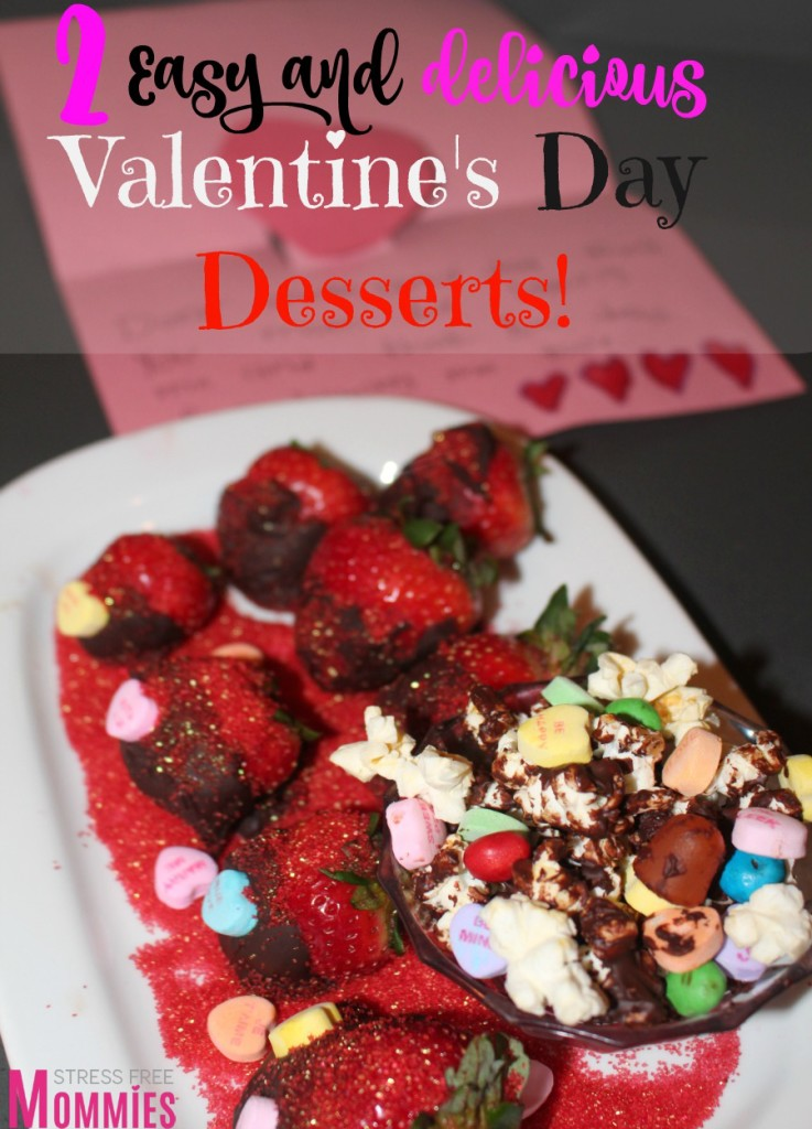 Valentine's day dessert done in minutes!