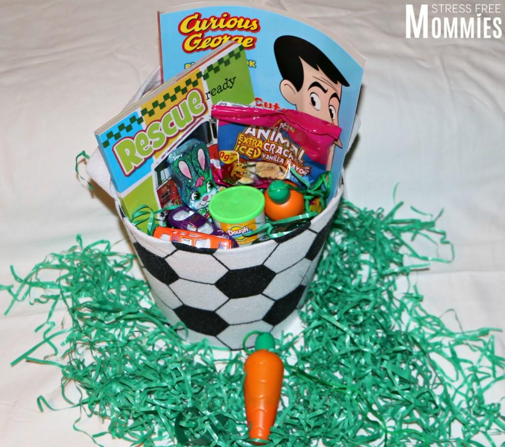 easter basket for boy