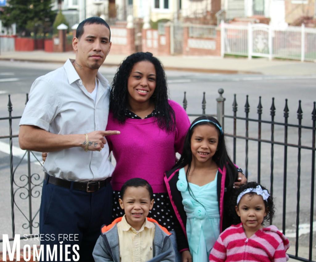 family in Easter